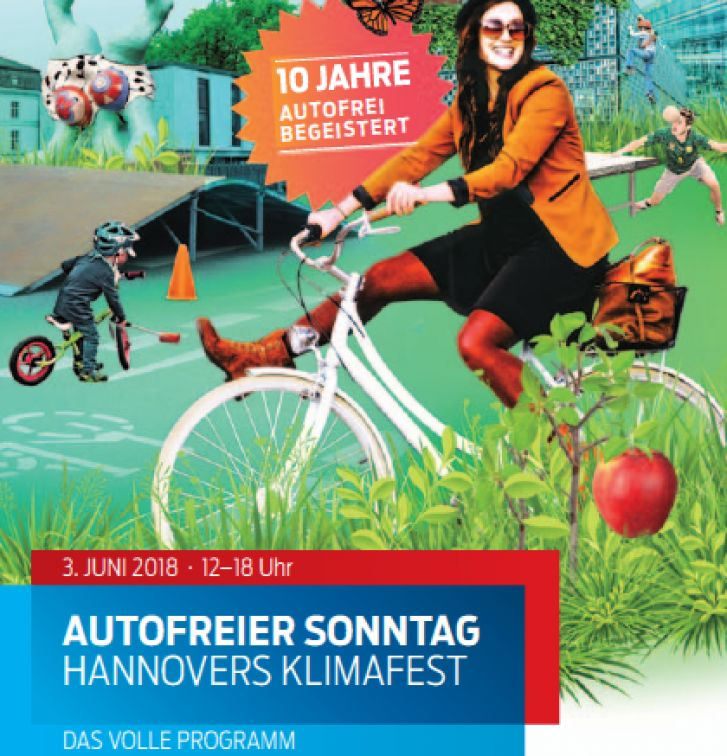 Autofreier Sonntag Hannovers Klimafest